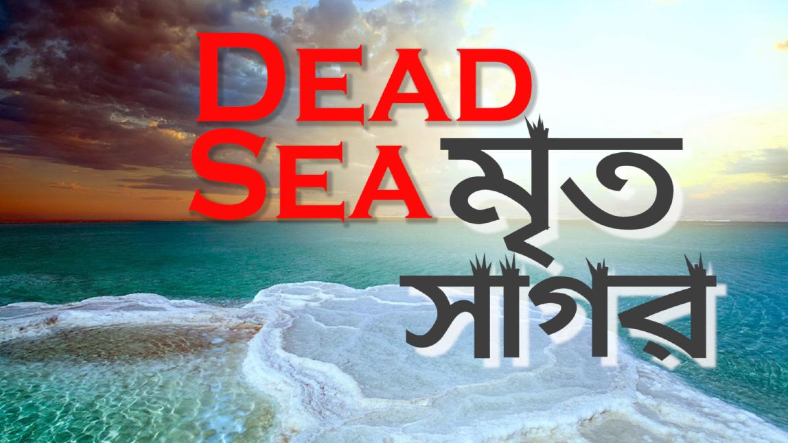 Dead Sea || মৃত সাগর || ডেড সি' কি আসলেই মৃত সাগর? || The Dead Sea is really the Dead Sea?