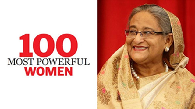 ১০০ নারীর তালিকার ৩৯তম শেখ হাসিনা : মু: মাহবুবুর রহমান